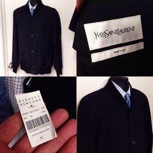 Men's Yves Saint Laurent Bomber Jacket Large